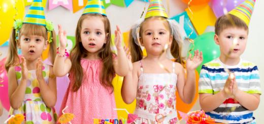 Children's Birthday Parties
